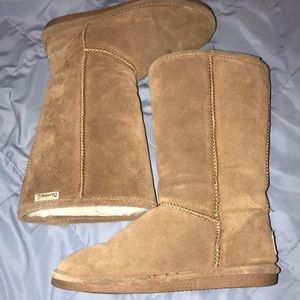 Used, Brown bear paw boots for sale